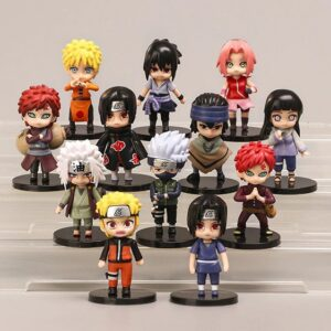 Naruto Shippuden Main Characters Awesome Action Figure Set