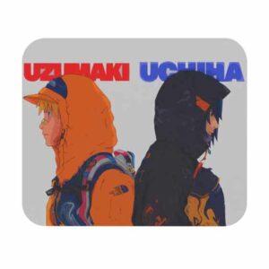 Naruto Uzumaki and Sasuke Uchiha Hypebeasts Mouse Pad