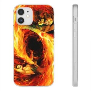One Piece Ace & Sabo Flame Artwork Awesome iPhone 12 Case