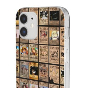 One Piece Characters Wanted Poster Art Dope iPhone 12 Cover