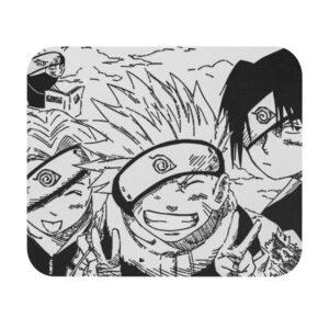 Original Team 7 Sakura Naruto And Sasuke Manga Art Mouse Pad