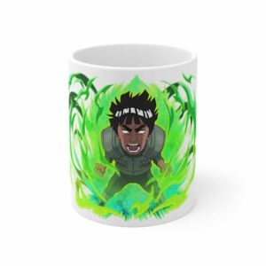 Powerful Might Guy Gates Opened Badass Ceramic Coffee Mug