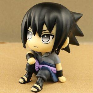 Rogue Ninja Uchiha Sasuke Chibi Style Toy Figurine
