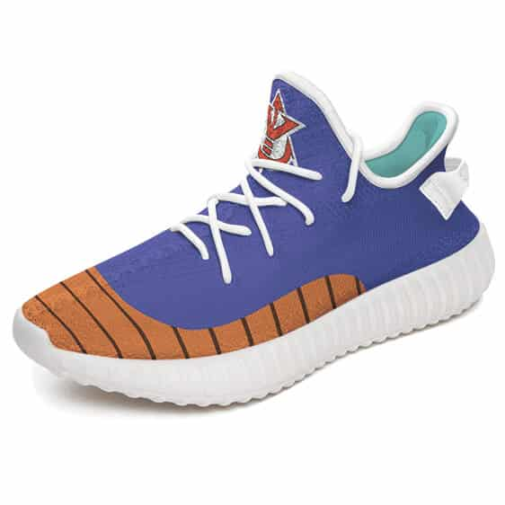 Saiyan Royal Family Symbol Dope Cosplay Yeezy Shoes