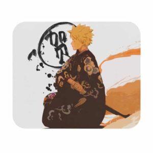 Samurai Naruto Traditional Kimono Parody Mouse Pad