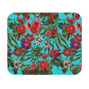 Stunning Weed Floral Art Cannabis Non-Slip Mouse Pad