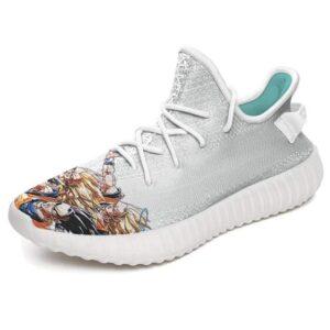 Super Saiyan Goku Gotenks Gohan Vs Majin Buu Yeezy Shoes