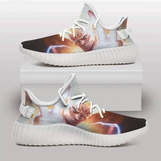 Super Saiyan Majin Vegeta Awesome Fan Art Yeezy Shoes