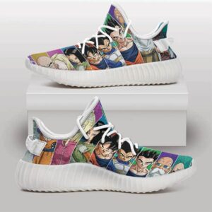 Tournament of Power Universe 7 Characters Yeezy Sneakers