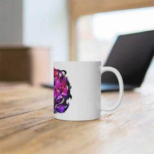 Uchiha Madara Edo-Tensei Reincarnation White Coffee Mug