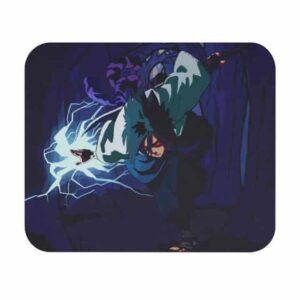Uchiha Sasuke Chidori Lightning Chakra Gaming Mouse Pad