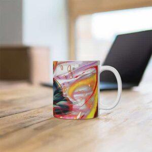 Young Obito Uchiha Fireball Ninjutsu Stylish Coffee Mug