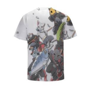 Adorable Akatsuki Members Cat Version Cool Kids Shirt