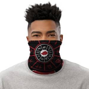 Akatsuki's Old Villages Forehead Protector Cut Logo Tube Mask