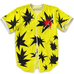 Arlong Favorite Yellow Shirt Cosplay Baseball Jersey