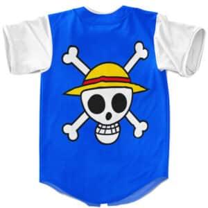 One Piece Luffy Fourth Gear Bounce Man Baseball Jersey