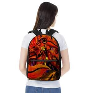 Badass Naruto & Monster Fox Kurama Painting Backpack Bag