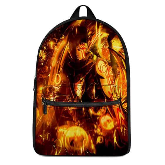 Boruto Naruto Next Generations Kawaki Flame Art Backpack