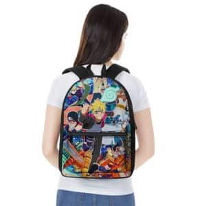 Boruto Naruto Next Generations Main Characters Backpack