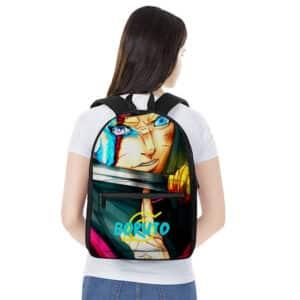 Boruto Uzumaki Jougan Dojutsu Art Badass Backpack Bag