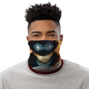 Chief Of Staff Sabo Flame-Flame Fruit Power Neck Gaiter