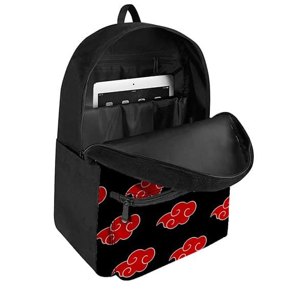 Cute Akatsuki Members Chibi Art Design Pattern Backpack