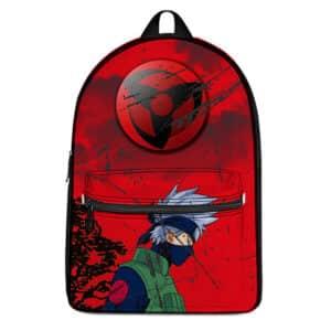 Dope Kakashi Hatake Sharingan Vintage Look Backpack