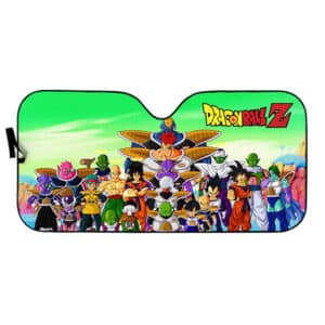 Dragon Ball Characters With Ginyu Forces Windshield Sun Shade