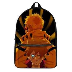 Father & Son Naruto Boruto Uzumaki Artwork Epic Knapsack