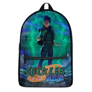Fierce Rock Lee Fifth Gate Aura Dope Naruto Backpack Bag