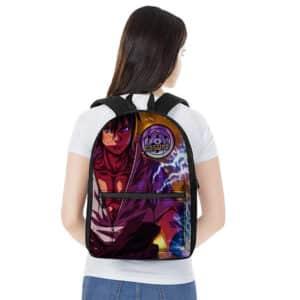Fierce Sasuke Uchiha Sharingan And Rinnegan Backpack Bag