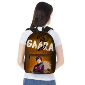 Gaara of the Sand Eye & Forehead Kanji Art Backpack Bag
