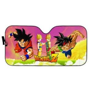 Goku Bardock Father And Son Dragon Ball Art Car Sun Shade