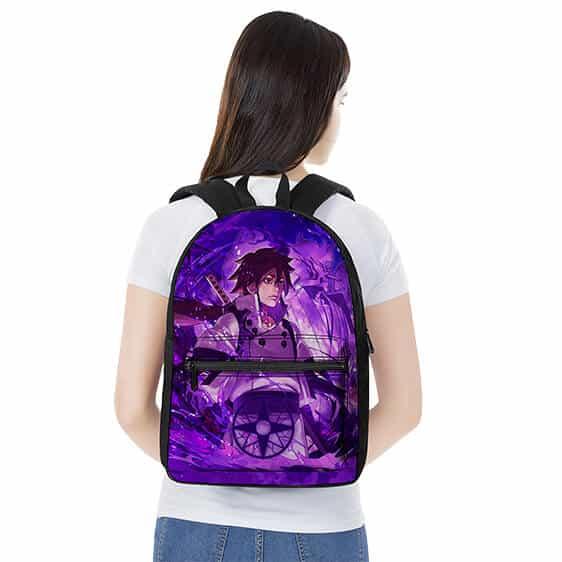 Indra Otsutsuki Susanoo Art Design Stylish Naruto Backpack