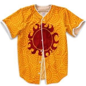 Jinbe Middle Chest Sun Pirates Tattoo Baseball Jersey