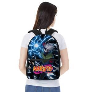 Kakashi Hatake Powerful Chidori Dope Naruto Backpack