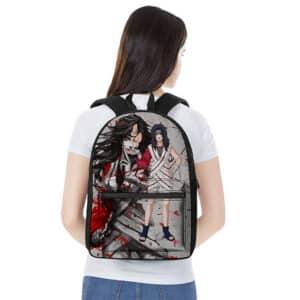 Kurenai Yuhi Blood Splash Painting Epic Naruto Backpack