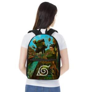 Leaf Village Kakashi & Might Guy Painting Awesome Backpack