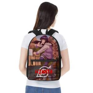 Leaf Village Ninja Hinata Hyuga Battle Stance Backpack Bag