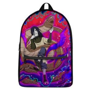 Legendary Sannin Orochimaru Artwork Awesome Naruto Backpack