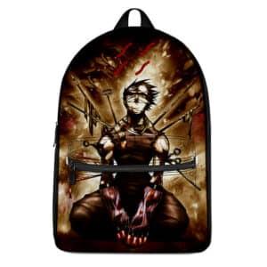 Mist Swordsman Zabuza Death Moment Dope Naruto Backpack