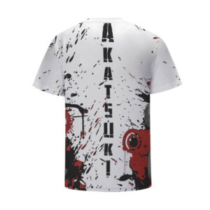 Monochrome Akatsuki Team Members Bloody Art Kids Shirt