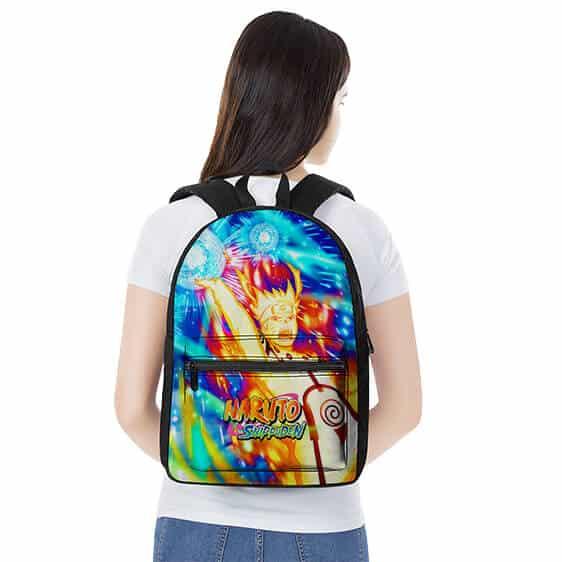 Naruto Nine-Tails Chakra Mode Rasengan Awesome Backpack