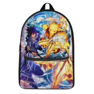 Naruto & Sasuke Chidori Rasengan Fan Art Stylish Backpack
