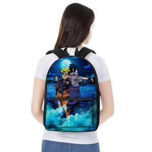 Naruto Uzumaki And Sasuke Uchiha Classic Art Backpack Bag