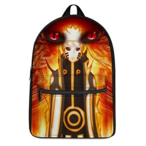 Naruto Uzumaki Nine-Tail Kurama Mode Epic Backpack Bag
