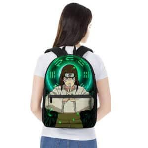 Neji Hyuga Eight Trigrams Glitch Art Dope Naruto Backpack