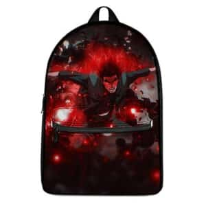 Powerful Might Guy Eight Gates of Death Backpack Bag