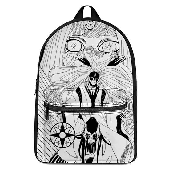 Powerful Otsutsuki Clan Members Manga Art Design Backpack