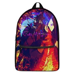 Powerful Uchiha Madara Battle Stance Epic Naruto Backpack